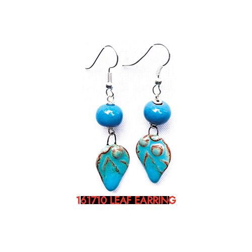 161710 leaf earring