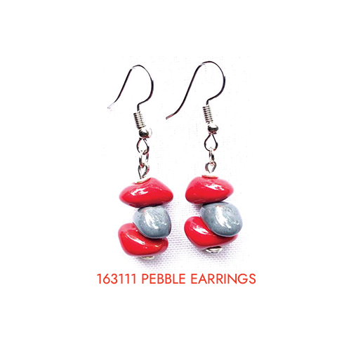 163111 pebble earrings