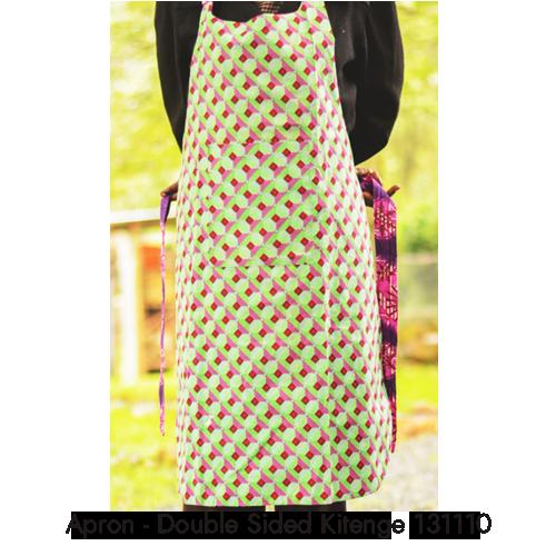 apron double sided kitenge