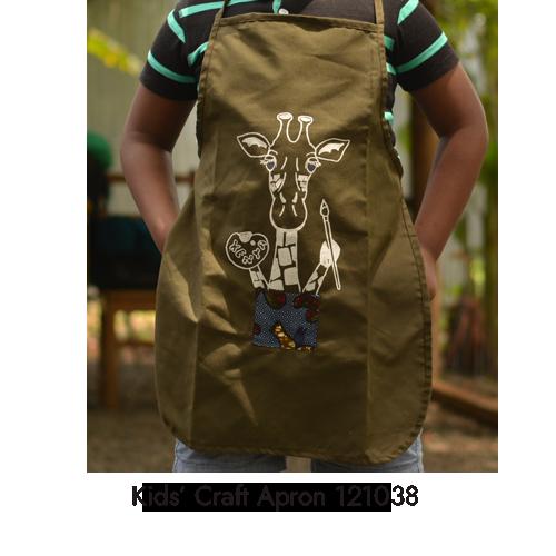 kids craft apron