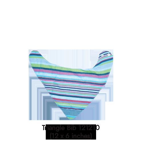 triangle bib